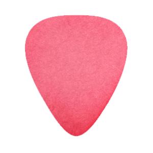 Delrin Gitarren Picks - Rot