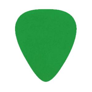 Nylon Gitarren Picks - Grün