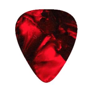 Vintage Plektren - Rot