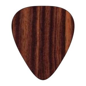 Gitarrenpickel aus Holz - Ebenholz